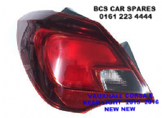 VAUXHALL CORSA  E  REAR LIGHT PASSENGER SIDE  N /S       2015  2016    ( 5  DOOR MODEL ONLY )        NEW  NEW (3)